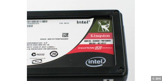 Intel inside: Kingston SSD Now M-Series SNM125-S2 80GB