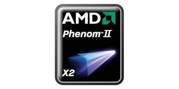Neues Logo für den Dual-Core: AMD Phenom II X2