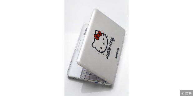 Hello-Kitty-Netbook S1211 von Medion