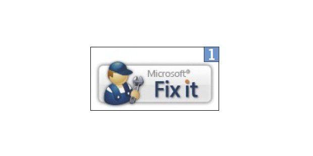 Microsofts Fix-it-Tools helfen bei zahlreichenProblemen