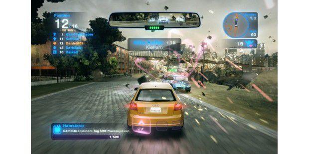 Taktik statt PS: Selbst mit vergleichsweise lahmenFahrzeugen wie einem Audi A3 ist ein Sieg möglich.
