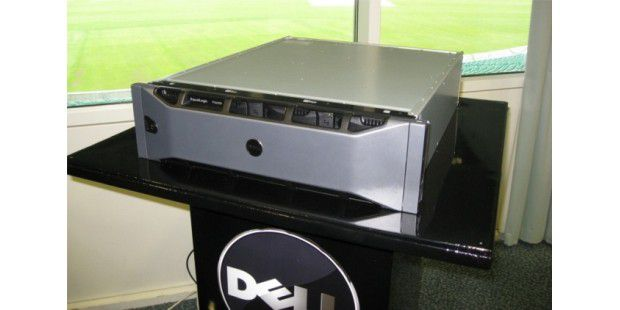 Speicher satt: Dell präsentiert mit der PS6000-Serie neueiSCSI-SAN-Storage Arrays.
