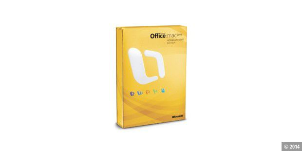 Microsoft Office 2008 für Mac Home and Student Edition