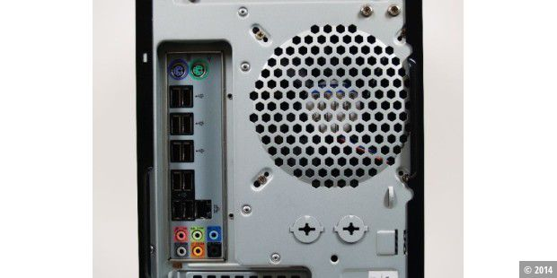 PC-World WhisperPower NewTechnology Intel i5/P55: Anschlüsse