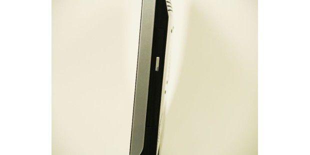 MSI Wind Neton AP1900: Trotz flachem Design findet einDVD-Brenner Platz