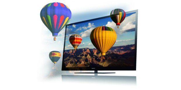 Herkömmlicher 3D-Fernseher Bravia 55NX815 vonSony