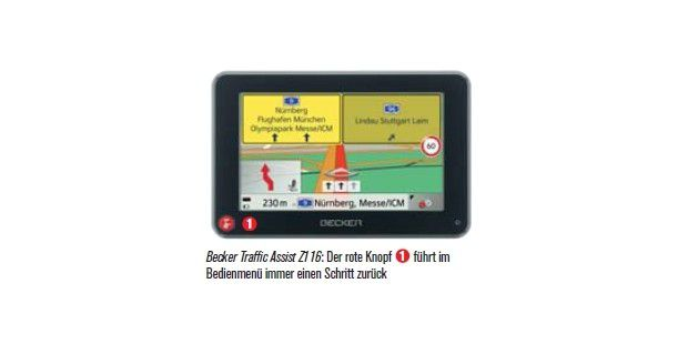 Becker Traffic Assist Z1 16