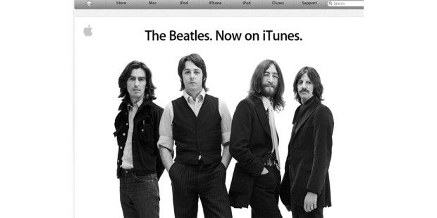 Beatles-Songs künftig auf iTunes