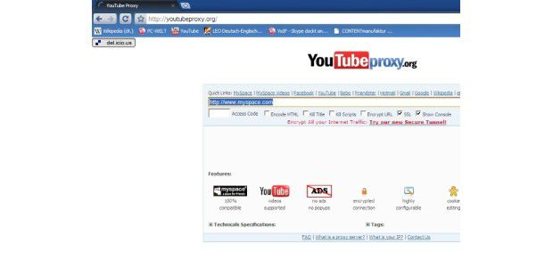 YouTubeProxy
