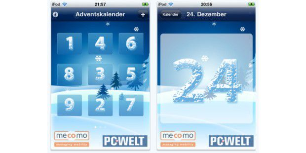 Gratis-App: PC-WELT Adventskalender