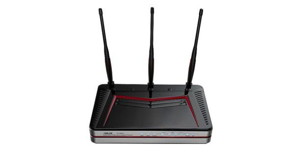 Dual-band Wireless-N Gigabit Router Asus RT-N66