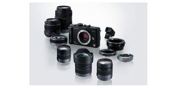 Panasonic bietet für die Modelle des G-Micro-Systemszahlreiche Objektive und diverse Adapter an.
