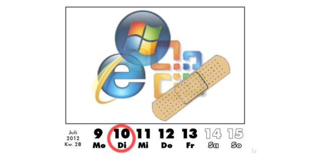 Microsoft Patch-Day im Juli 2012