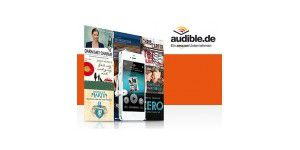 Gratis Hörbuch bei Audible im Probeabo