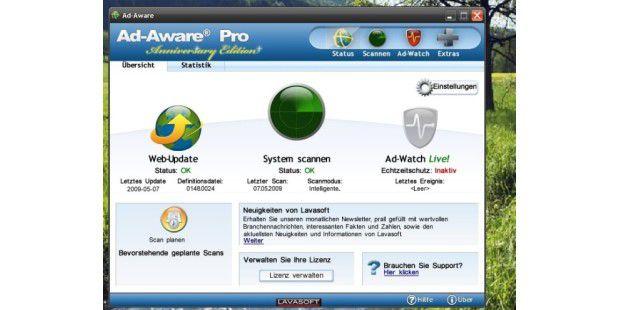 Lavasoft Ad-Aware gibt es auch in einer Free-Version.