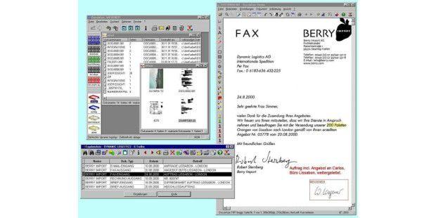 Im Griff: Ein DM-System – im Bild ein Beispiel von Docuware – erleichtert das Bearbeiten, Verwalten und Finden unternehmensrelevanter Dokumente (Quelle: Docuware).