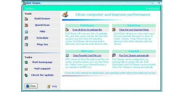 Platz freischaufeln: Datenmüll auf den Laufwerken beseitigen Sie am besten mit einem Tool wie CM Disk Cleaner