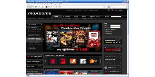 Maxdome Blockbuster-Special