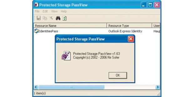 Protected Storage Passview&#x3A