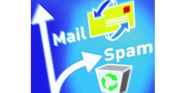 Hotmail: Mit Filter und Blockade geht's Spam an denKragen.