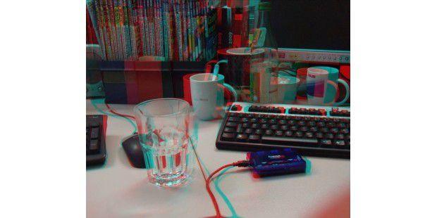 Bild einer 3D-Kamera