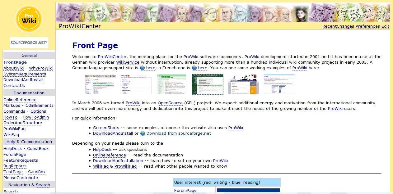 Pmwiki, MoinMoin, Prowiki, Teambox - PC-WELT