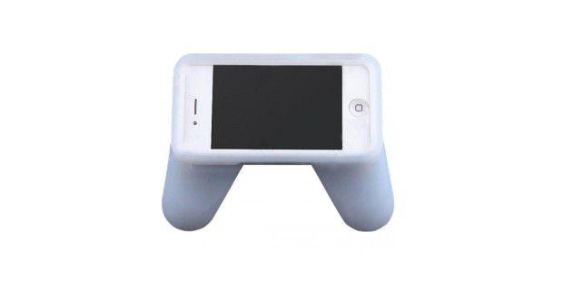 Einfach aber komfortabel: Der Gaming Grip macht aus demiPhone ein Gamepad.