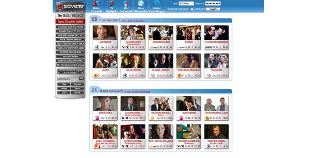 Nie wieder eine Sendung verpassen: Save.TV ist IhrVideorekorder in der Cloud.