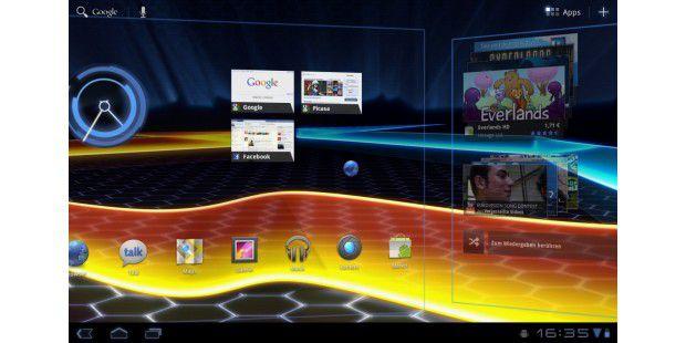 Motorola Xoom mit Honeycomb (Android 3.0)