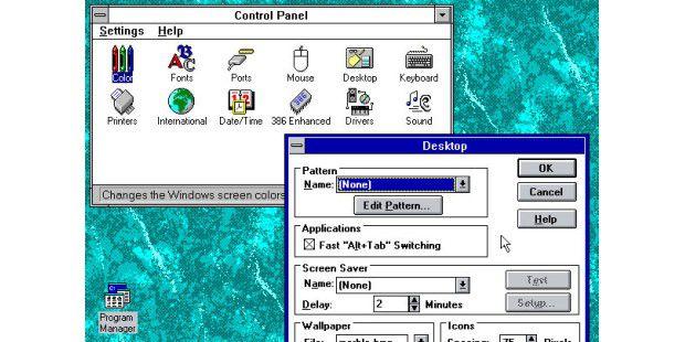 Das Control Panel