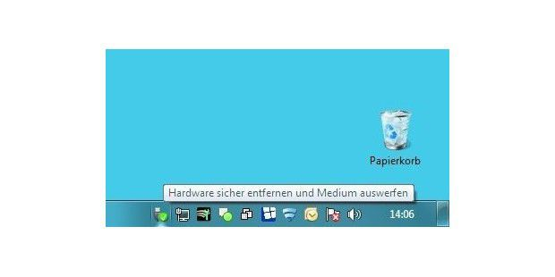 USB-Stick sicher entfernen