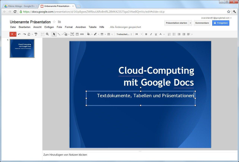 Dokumente erstellen mit Google Docs - PC-WELT
