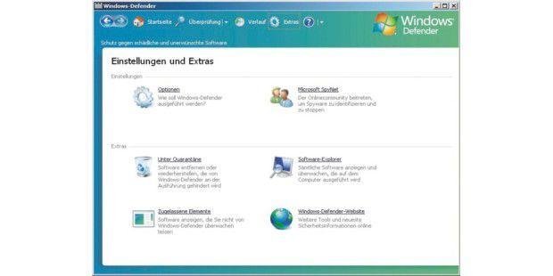 Windows Defender von Microsoft