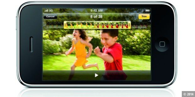 iPhone 3G S: Video-Funktion