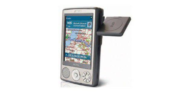 UNIVERSELL Digitale Assistenten (PDAs) lassen sich nichtnur als Adressdatenbank, sondern zusammen mit einerNavigations-Software und einer GPS-Maus auch als Pfadfindereinsetzen