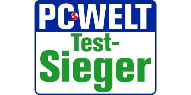 Testsieger im PC-WELT-Test