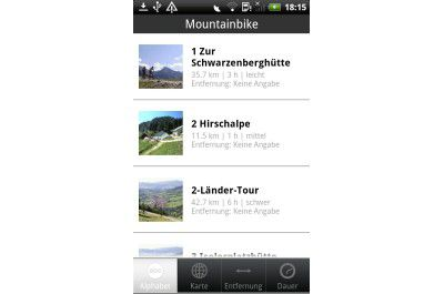 "Android-App ""Deuter"""