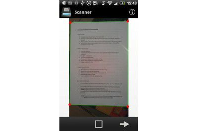 "Android-App ""Handy Scanner Pro: PDF Creator"""