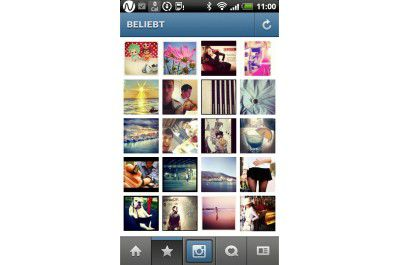 "Android-App ""Instagram"""