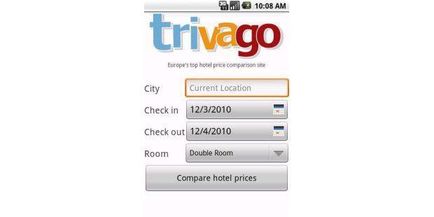 trivago Hotelsuche