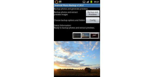 Android Photo Backup