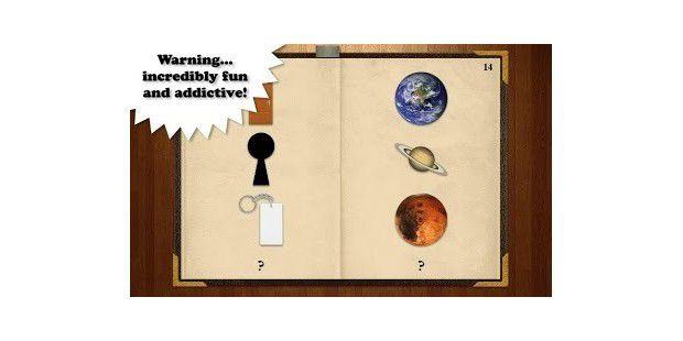 Spiel, Spaß, Buch der Rätsel, Android-App