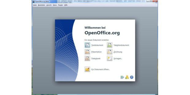 Openoffice.org 3.0 Beta 1