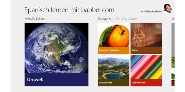 Spanisch lernen mit babbel.com