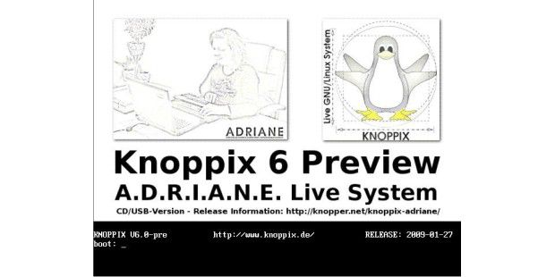Knoppix 6 - Bild 01