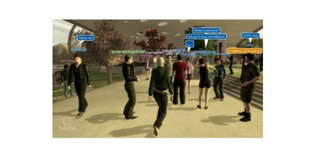 Platz 10: Sony Playstation Home