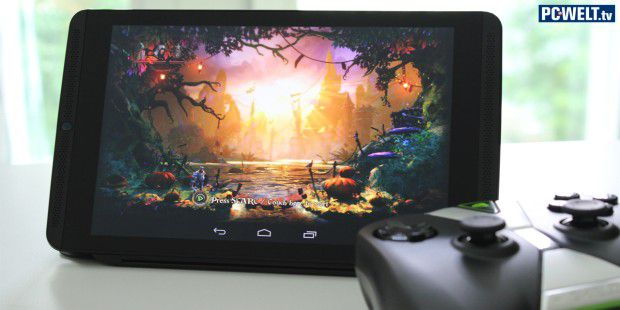 Video: Nvidia Shield Tablet für Gamer