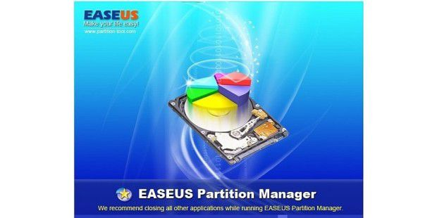 EASEUS Partition Master 01