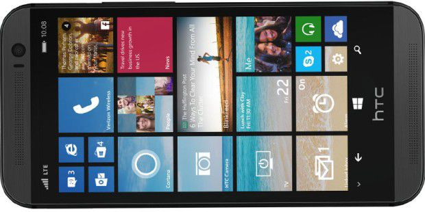 HTC One M8 mit Windows Phone gesichtet