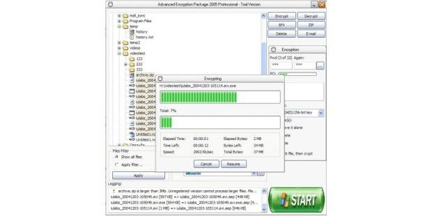 Advanced Encryption Package 2010 Professional 4.8.7